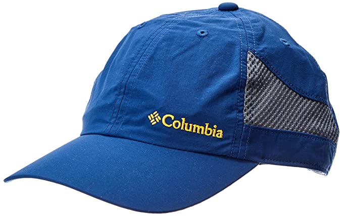 Columbia Tech Shade - Gorra unisex de nailon, Azul (Carbon), O/S ...