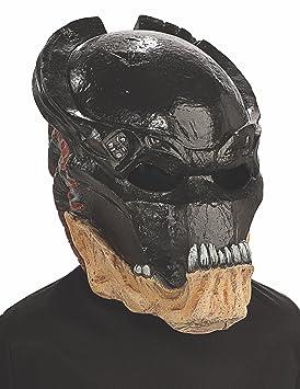 Rubies Costumes 4716 - Máscara de depredador para disfraz infantil (vinilo, ...