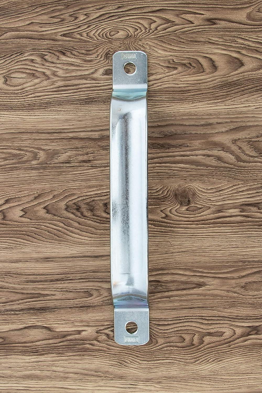 Gedotec Schiebe-Torgriff Metall T/ürgriff f/ür Schiebet/üren /& Tore Ziehgriff zum Schrauben Haltegriff mit L/änge: 205 mm Stahl verzinkt Schiebet/ürgriff mit 2 Anschraubl/öchern 1 St/ück