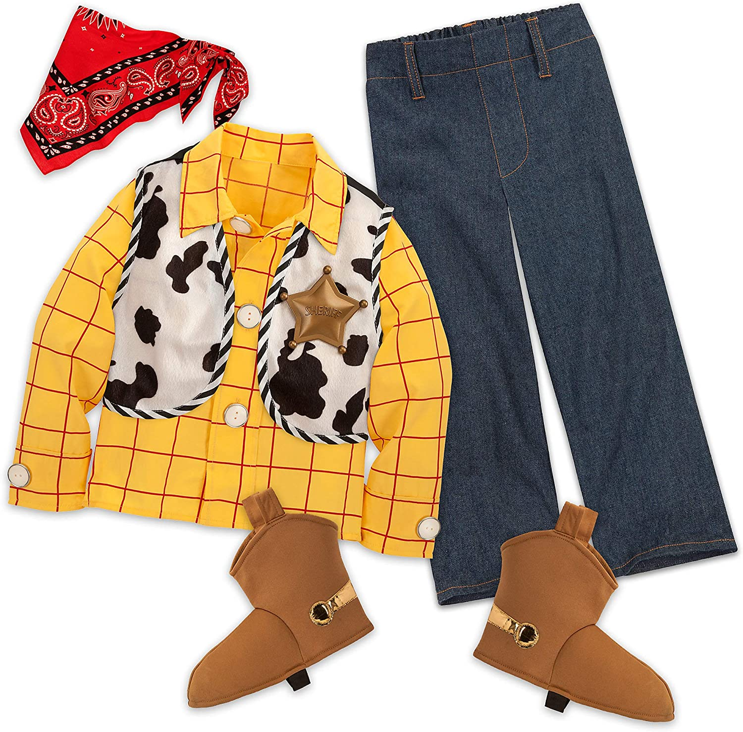 Disney Woody Costume for Kids Size 7/8 Multi