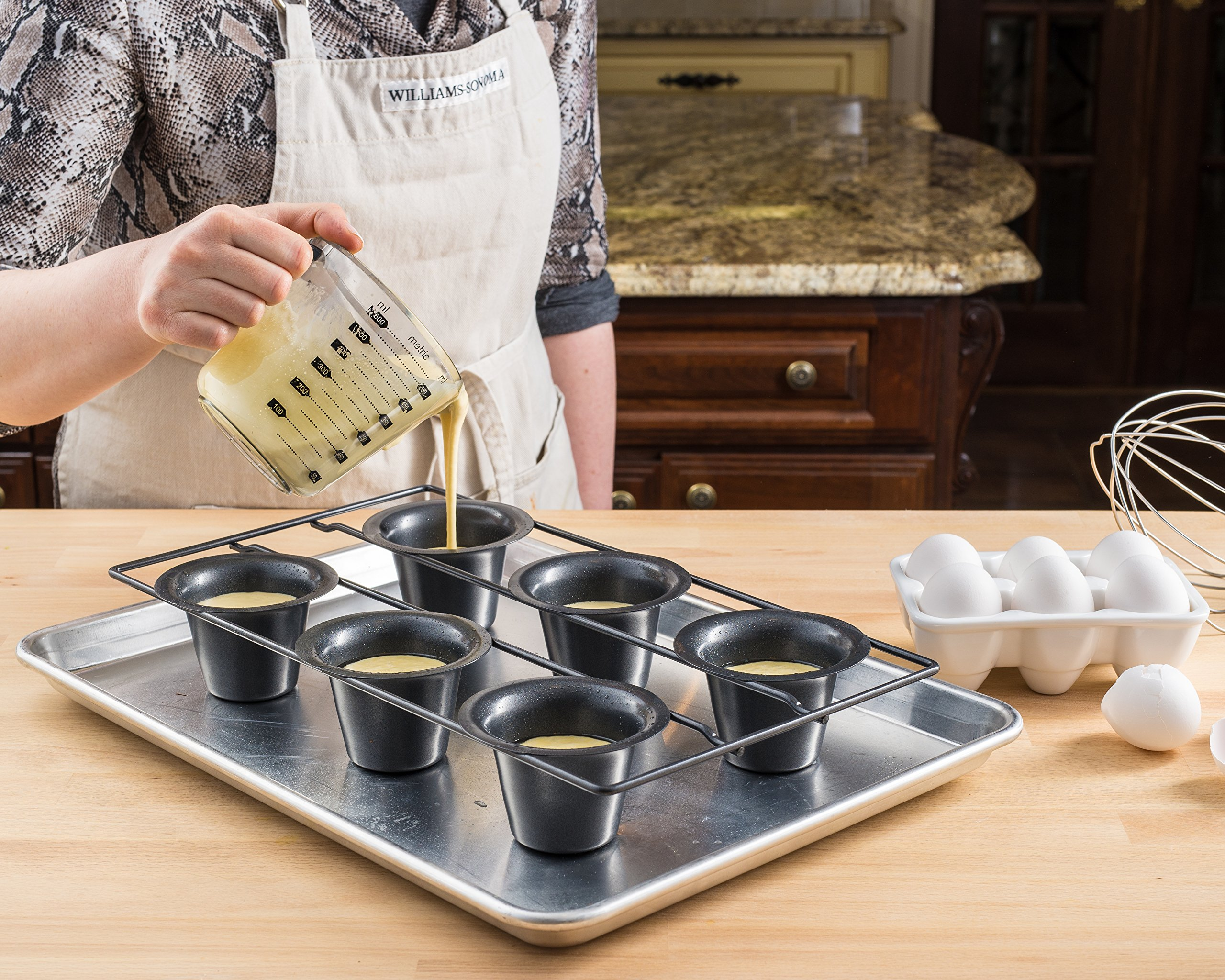 Bellemain 6 Cup Nonstick Popover Pan by Epica (Image #3)