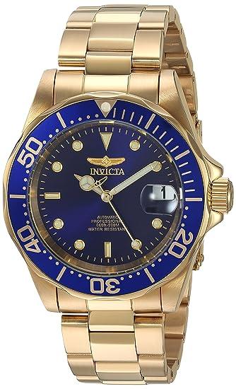 Invicta 8930 Pro Diver Reloj Unisex acero inoxidable Automático Esfera azul: Invicta: Amazon.es: Relojes