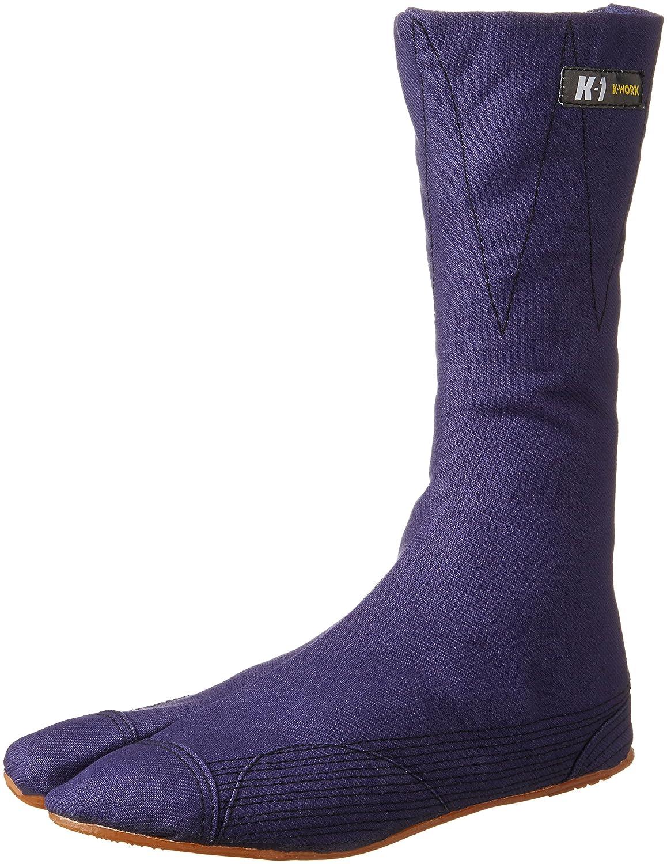 ケイワーク地下足袋 K-1縫付たび 12枚コハゼ