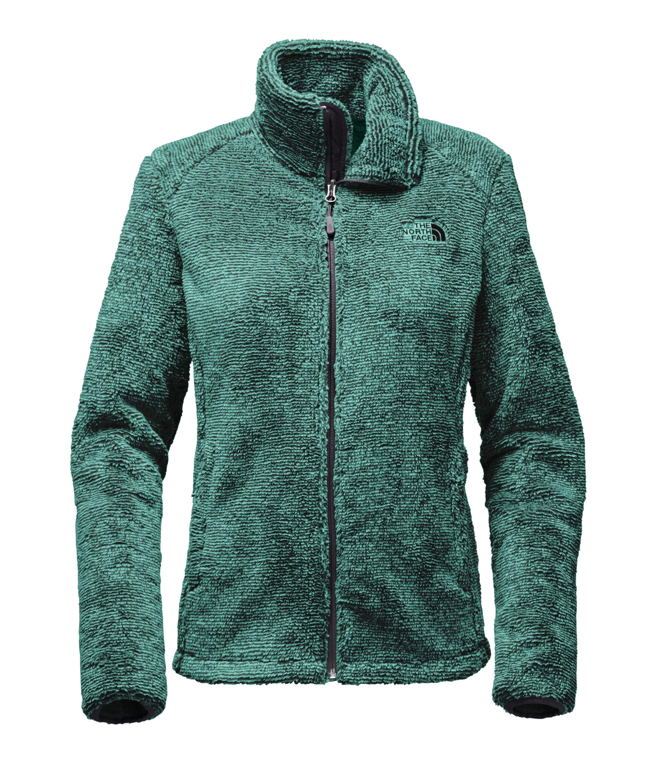 6e4b838a6 The North Face Women's Osito 2 Jacket - TNF Black & Harbor Blue Stripe - XS  (Past Season)