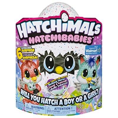 Hatchibabies FoxFin - Hatching Egg with Interactive Pet Baby (Styles May Vary) Ages 5 and Up - HOT Toy 2020: Toys & Games