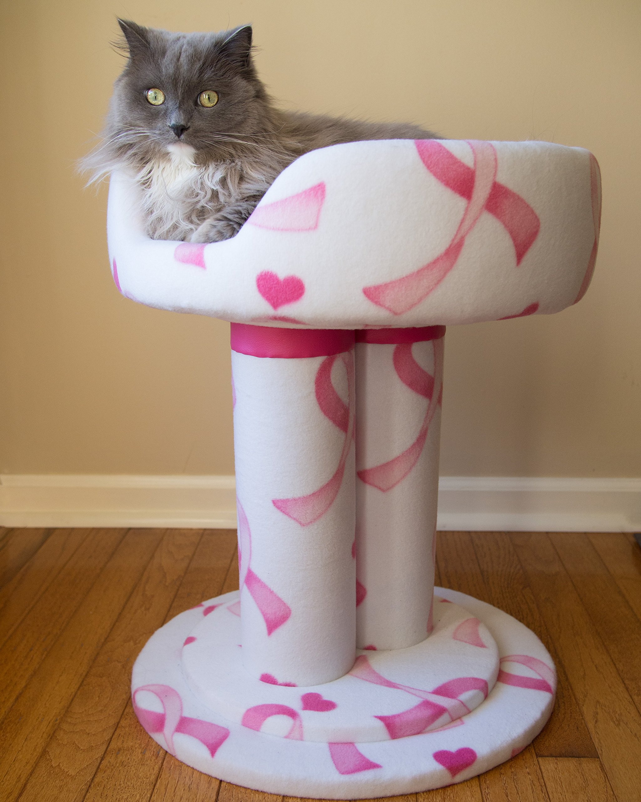 Royal Cat Boutique BC-3 Pink Ribbon Hybernest Deluxe House