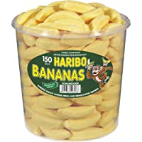 Haribo Bananas Tub -150 pcs