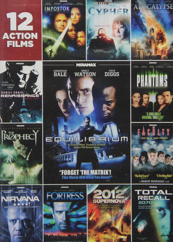 12-Film Action Pack [Reino Unido] [DVD]: Amazon.es: Cine y Series TV