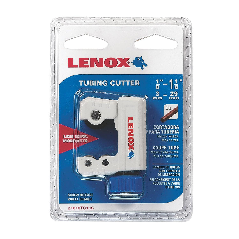 LENOX 21010-TC11/8 1/8-to-1-1/8-Inch Tubing Cutters - Lenox Tools - Amazon.com