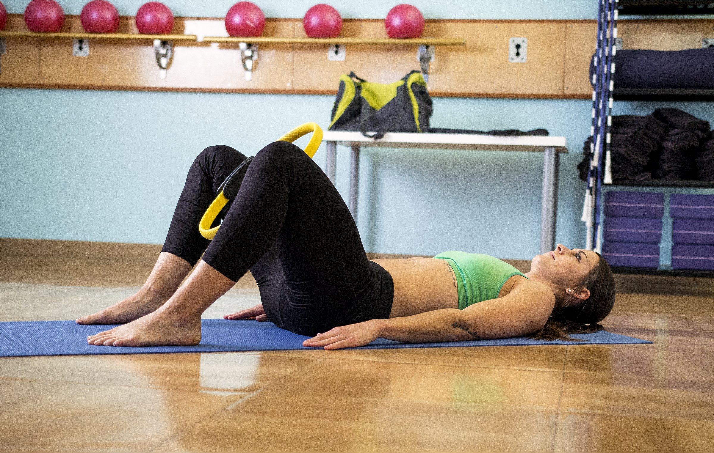 Pilates Ring Premium Power Resistance Full Body Toning Fitness Circle Durable