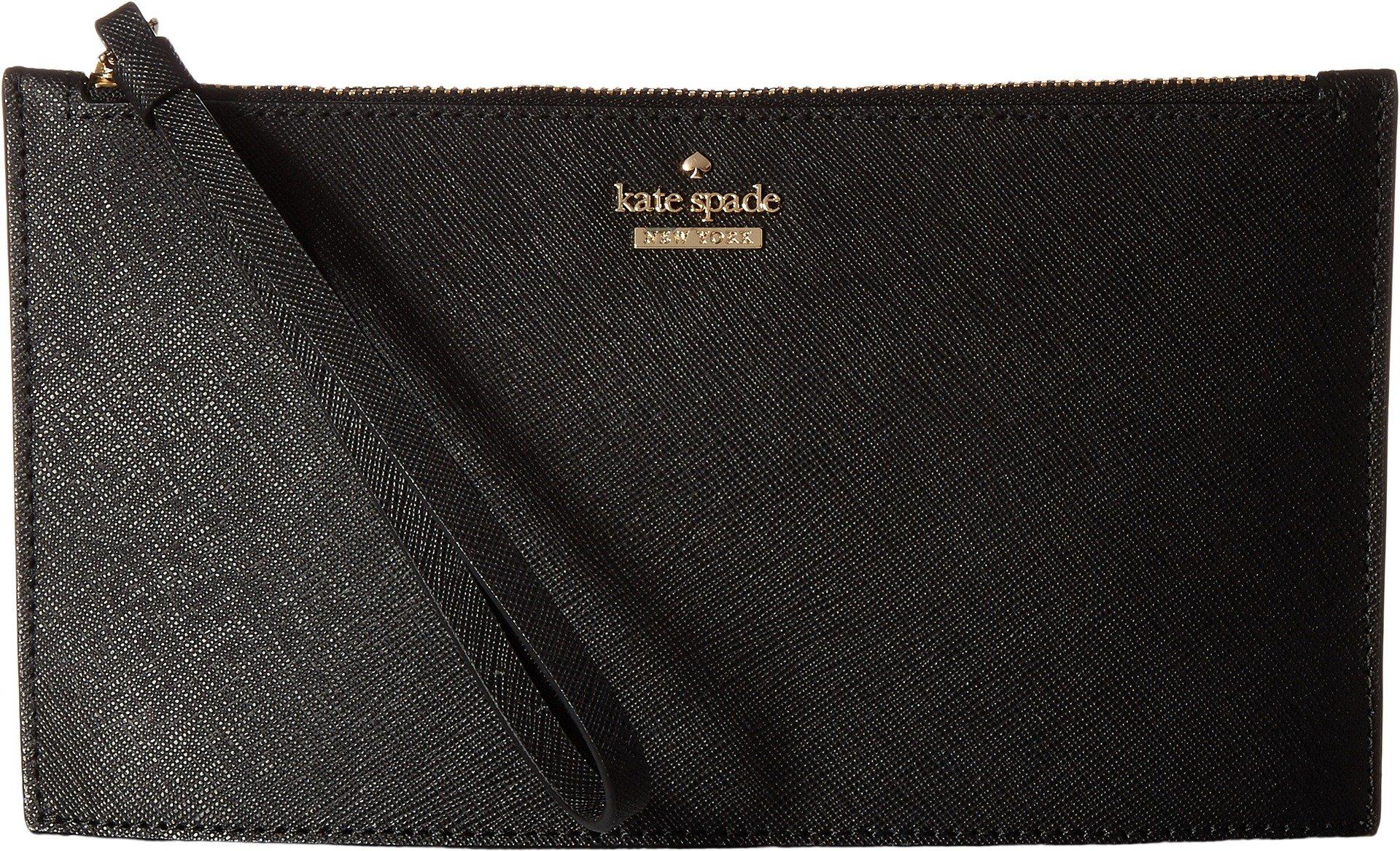 Kate Spade New York Women's Cameron Street Ariah Wristlet, Black, One Size