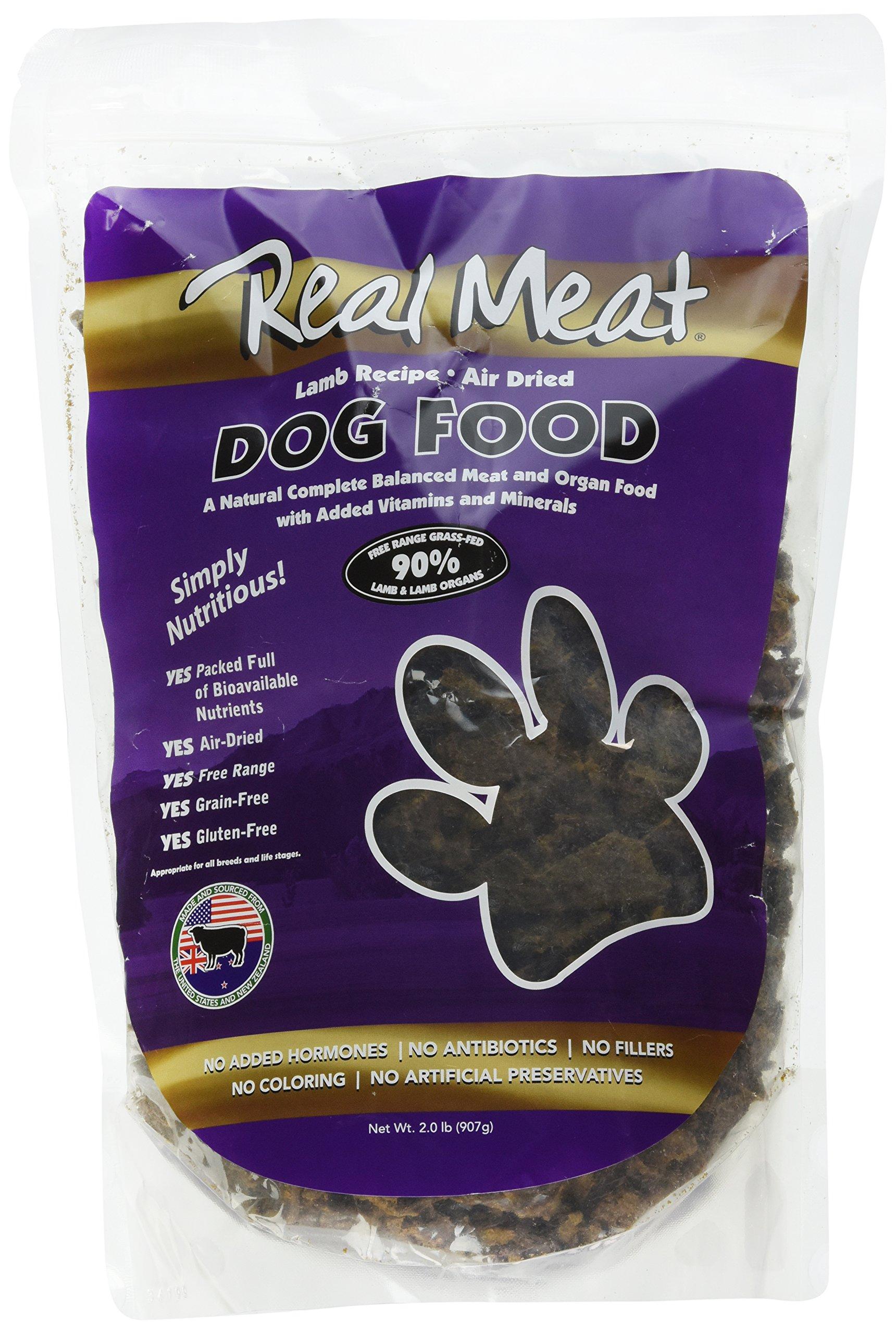 Real Meat Air Dried Lamb Pet Treat, 2 lb