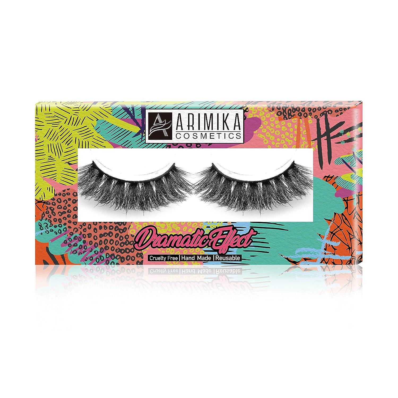 292afc3e867 Arimika 3D Long Thick Dramatic Look Handmade False Eyelashes For Makeup 1  Pair Pack: Amazon.co.uk: Beauty