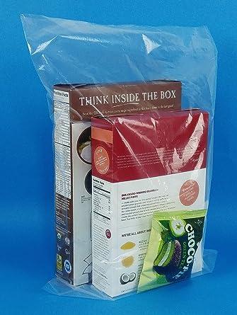Amazon.com: Paquete de 100 bolsas de embalaje de polietileno ...