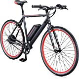 Schwinn Monroe 250 Watt hub-drive, fixie Electric Bicycle - 700c wheel size, Mens/Womens