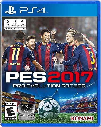 8386d6b4d3 Amazon.com  Pro Evolution Soccer 2017 - PlayStation 4 Standard Edition   Konami of America  Video Games