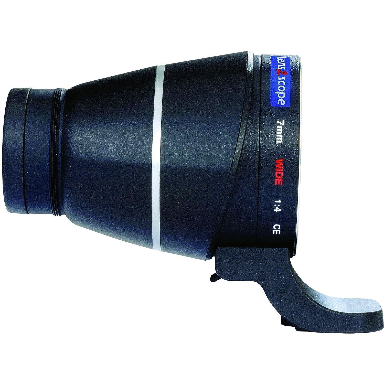 lens2scope Oculaire Renvoi Non coudé、Grand Champ 7 mm幅、Canon EOS注ぎ、Noir   B00COMSWUC
