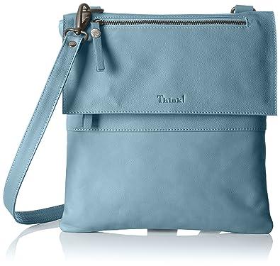 Damen Bag Umhängetasche, Blau (Ocean 80), 4x30x30 cm Think