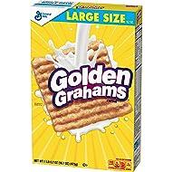 Golden Grahams Breakfast Cereal, Large Size, 16.7 Oz