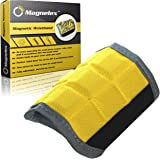 Magnelex Best Magnetic Wristband for Holding Tools, Screws, Nails, Bolts, Drilling Bits. One of The Best Christmas Gifts For Men, Dad, Husband, Relatives, Coworker, Friends & Family. Unique Gift Idea