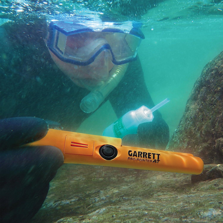 Detector de metales Garrett Pro Pointer en Propointer impermeable con Garrett Bolsa de camuflaje: Amazon.es: Jardín