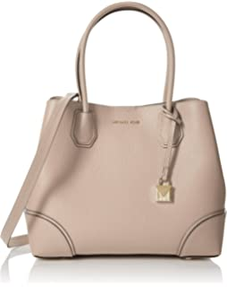 fb2a3846f42e07 Michael Kors Womens Annie Satchel Red (Bright Red): Amazon.co.uk ...