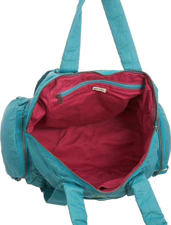XQ00 GLIMPSE Tasche Damen blau T6291 UNI Diesel bUu6noSCg