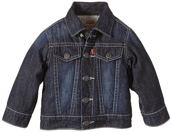 Levis Jacket NE40014, Chaqueta para Niños, Blau (Indigo 46 ...