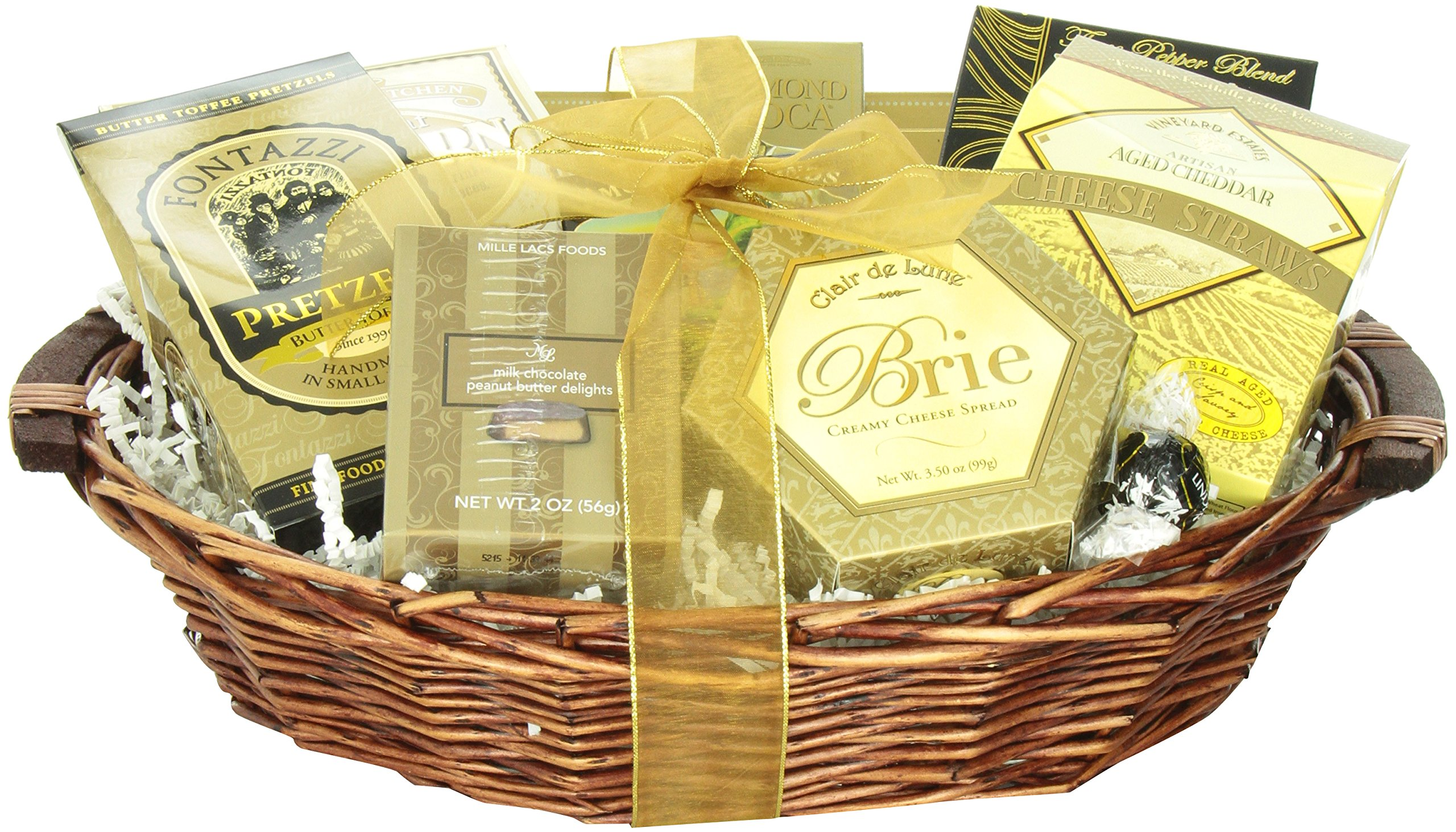 CDM product GreatArrivals Gift Baskets New Year's Grand Gourmet: Gourmet New Year's Gift Basket, 4.08 Kg big image
