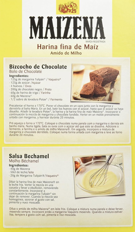 Maizena - Harina Maíz, 700 g - [pack de 3]: Amazon.es: Alimentación y bebidas