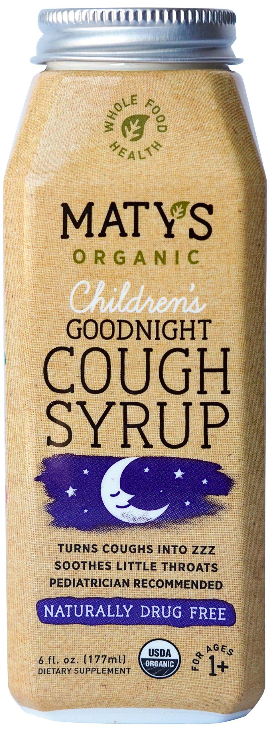 Matys Organic Children's Goodnight Cough Syrup, 6 Fluid Ounce