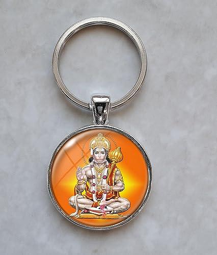 Hanuman हनुमान् .925 Sterling Silver Charm