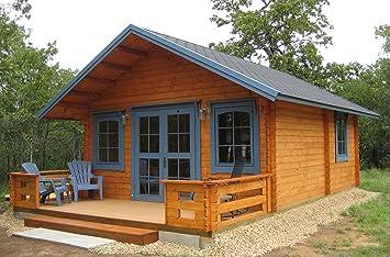 Amazon.com : Allwood Kit Cabin Getaway (Getaway cabin kit) : Garden ...