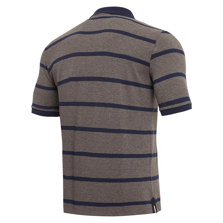 Macron Mens Scotland 2018//19 Travel Rugby T-Shirt Sports Top Tee Grey Training