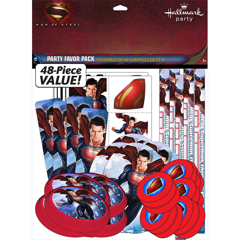 Amazoncom Superman Birthday Party Favor Set Toys Games