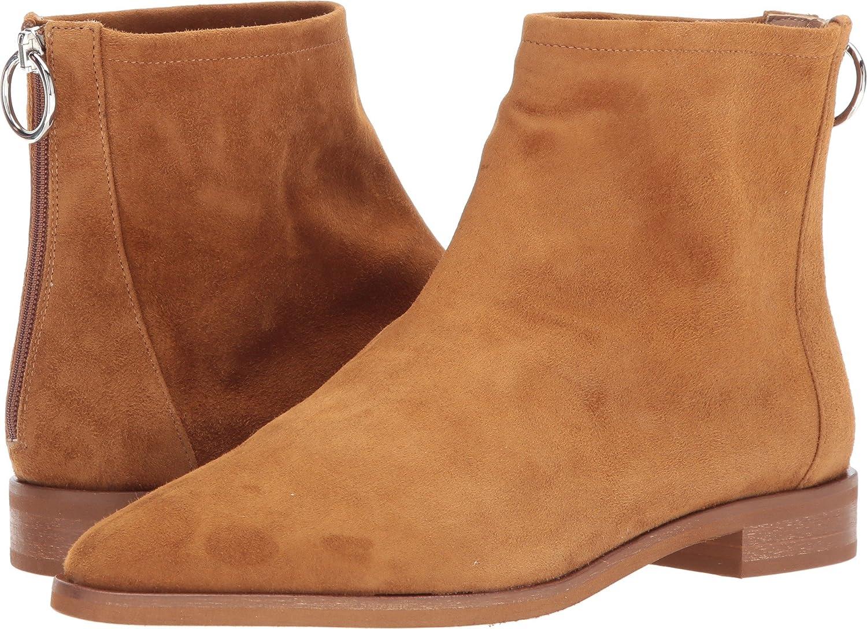 Via Spiga Women's Edie Ankle Boot B0754KTVTZ 6 B(M) US|Cuoio Suede