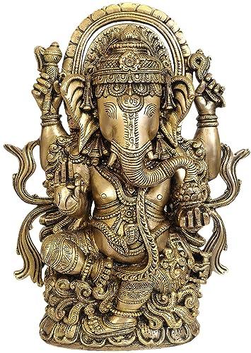 Lord Ganesha – Brass Statue