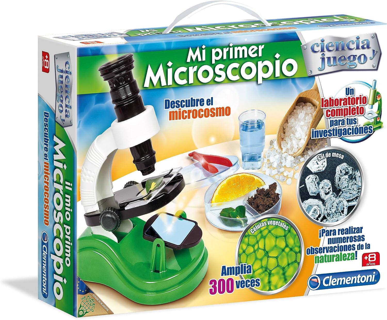 Ciencia y Juego - Microscopio (Clementoni 550791): Amazon.es: Juguetes y juegos