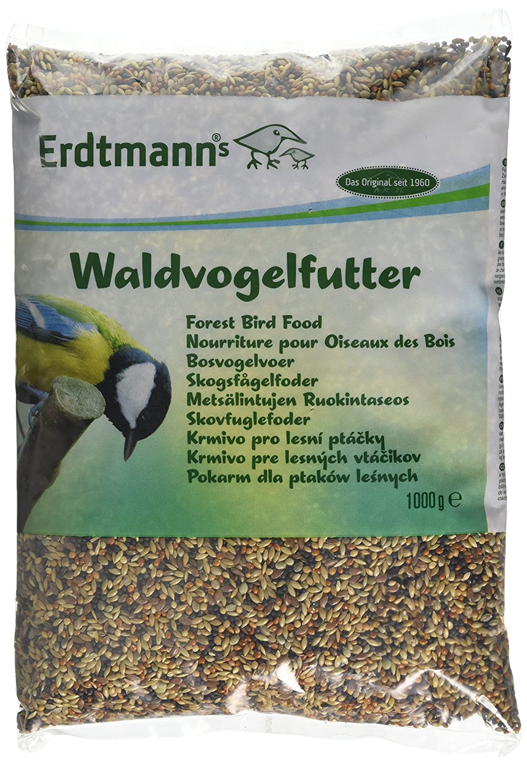 Erdtmanns Forest Wild Bird Food, 1000 g Forest Bird Food