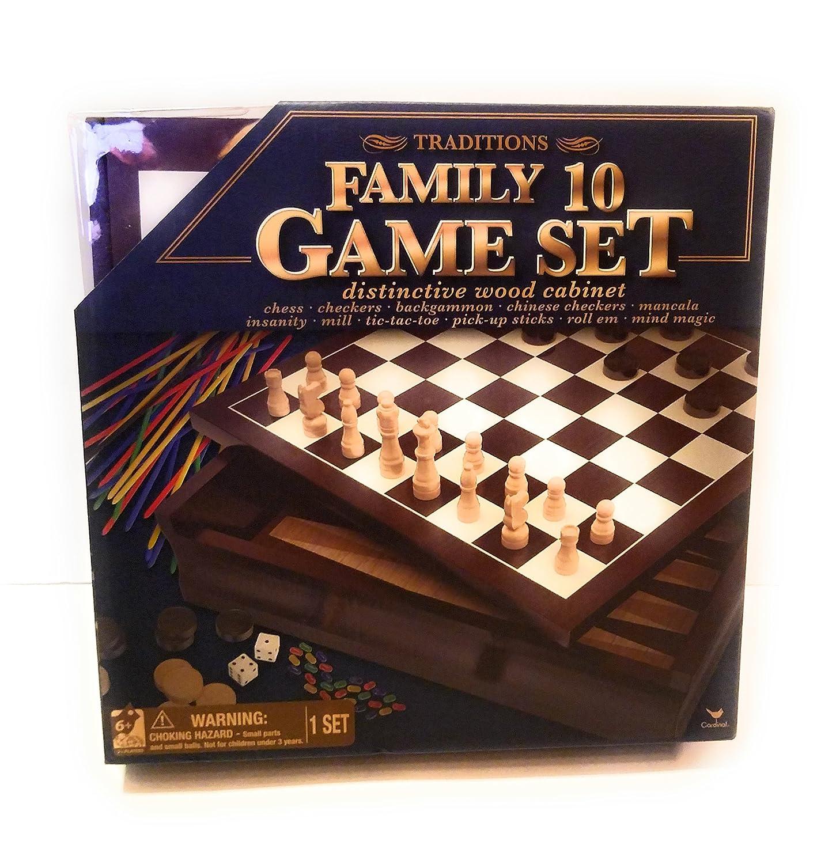 ★決算特価商品★ ファミリ10 Game Set Set B077MLYCJJ, インテリアトレジャーランド:08c1c9b2 --- arianechie.dominiotemporario.com
