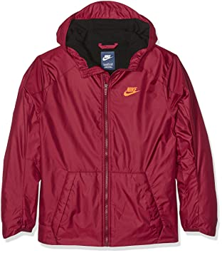 c2a7dbd21 Nike B Nsw Jkt Fleece Lined - Jacket for boys, Colour Red, size XS ...