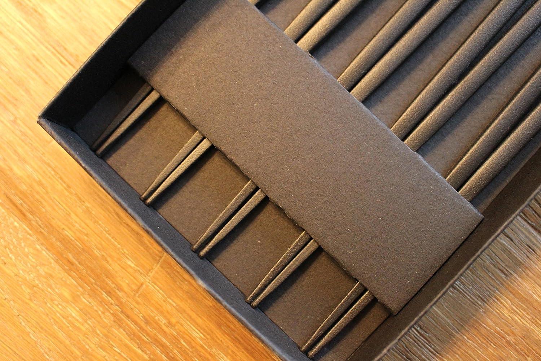 Mintrico Reusable Chopsticks Luxury Japanese Style 5 Pair Set Dishwasher Safe Wave