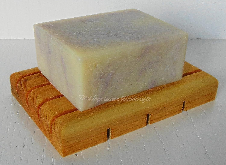 Wooden Soap Saver Cedar Soap Block Soap Deck