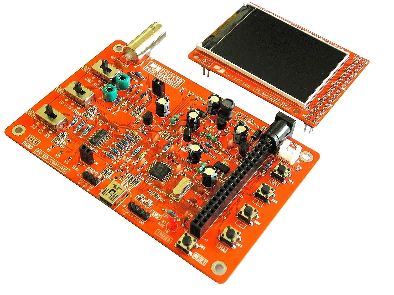 Jye Dso 138 Diy Kit 13801k Open Source Industrial 9v Battery Eliminator Electronic Circuits Kits Doityourself Scientific