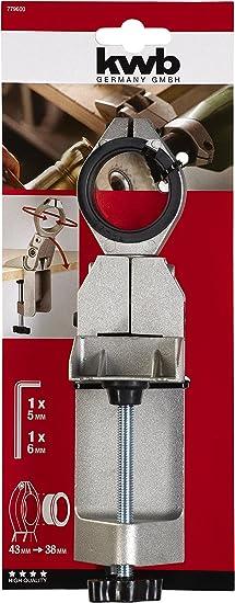 VEVOR Supporto per Trapano Verticale Supporto per Utensile Rotante per Postazione di Lavoro con Base in Metallo e Morsetto Nuovo