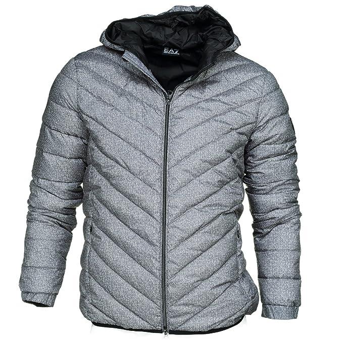 Emporio Armani EA7 cazadoras chaqueta de hombre plumíferos chapucha nuevo gris EU M (UK 38) 6YPB18 PNB5Z 2923: Amazon.es: Ropa y accesorios