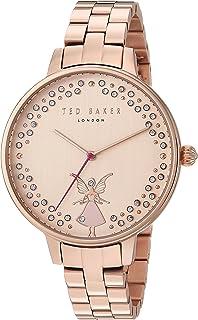 b4315c3e7daeb Ted Baker Women s Analog Quartz Watch with Leather Strap TEC0025007 ...