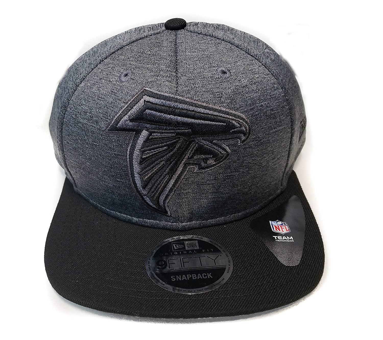 Amazon.com   New Era Atlanta Falcons 9Fifty Black   Black Logo Adjustable  Snapback Hat NFL   Sports   Outdoors 003ecc6d7f0