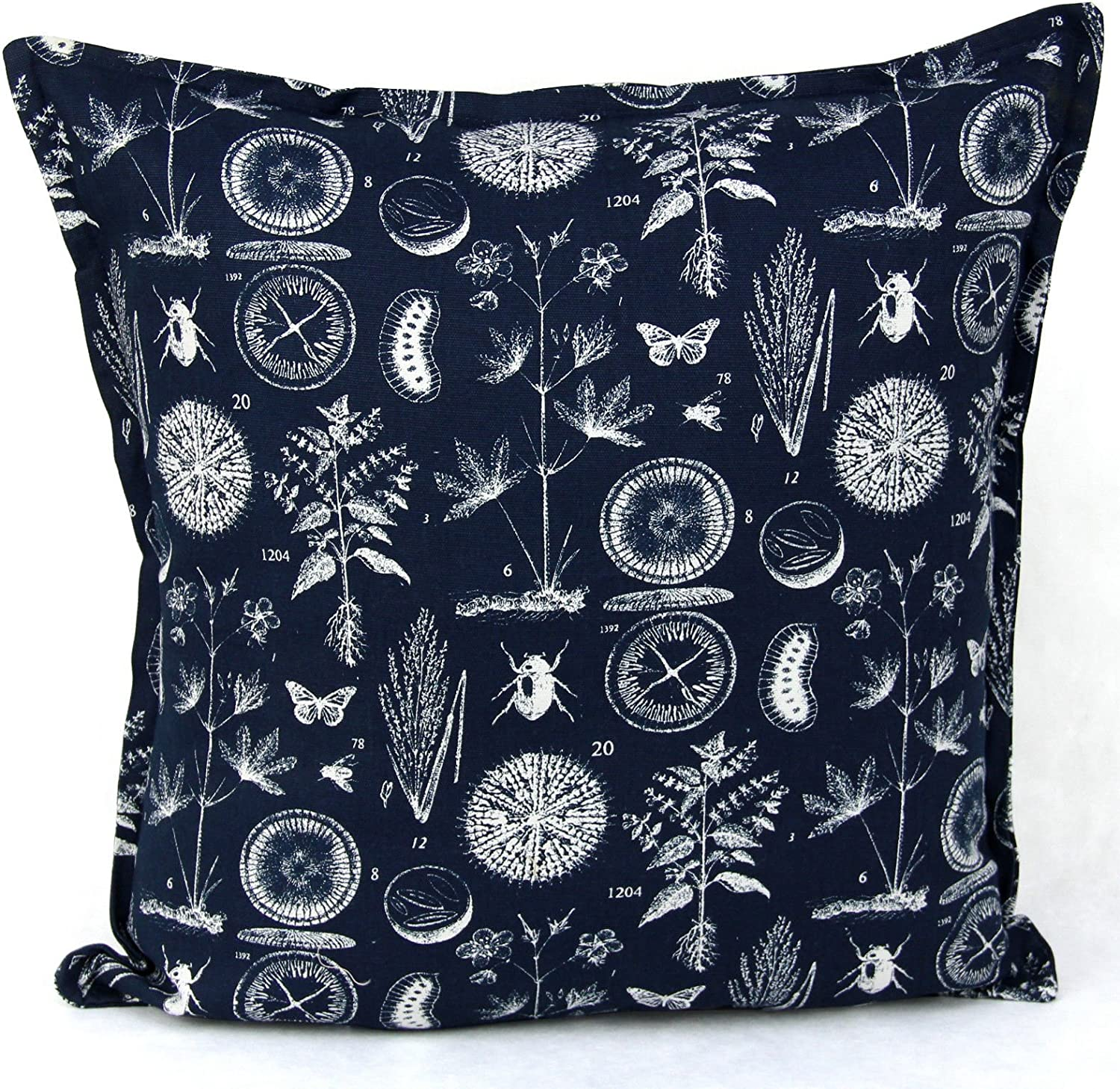 Adam Linens Luxury New 100 Cotton Cushion Covers Decorative Pillow Cover Size 20 X20 51cmx51cm Blue Sea Amazon Co Uk Kitchen Home