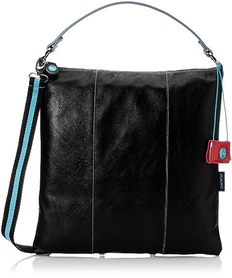 e0e40998ae GABS SOFIA L CFCF, Borsa a Tracolla Donna, Nero (Black), 1x39x38 cm:  Amazon.it: Scarpe e borse